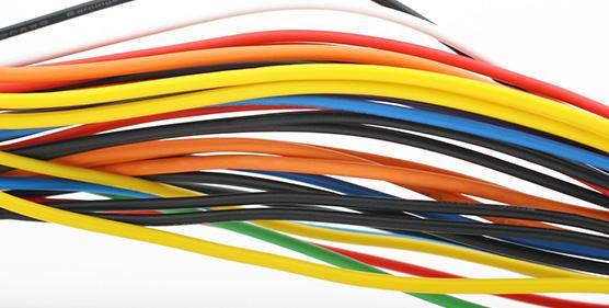 kolorowe przewody